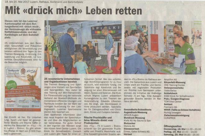 Luzerner Rundschau_Medienbericht_TPG 2017