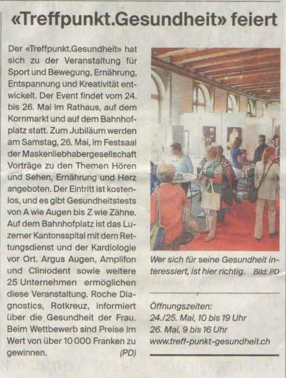 Luzerner Zeitung_19.Mai 2018