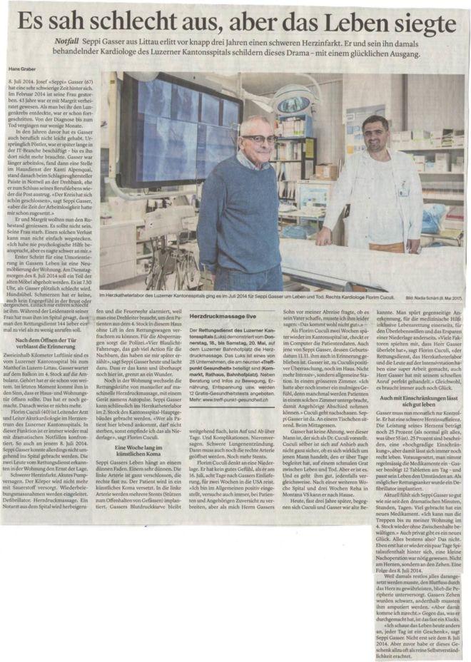 Luzerner Zeitung_Medienbericht_Luzerner Kantonsspital