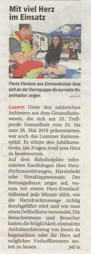 Luzerner Rundschau_1. Juni 2018