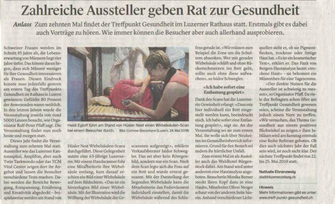 Luzerner Zeitung_25. Mai 2018