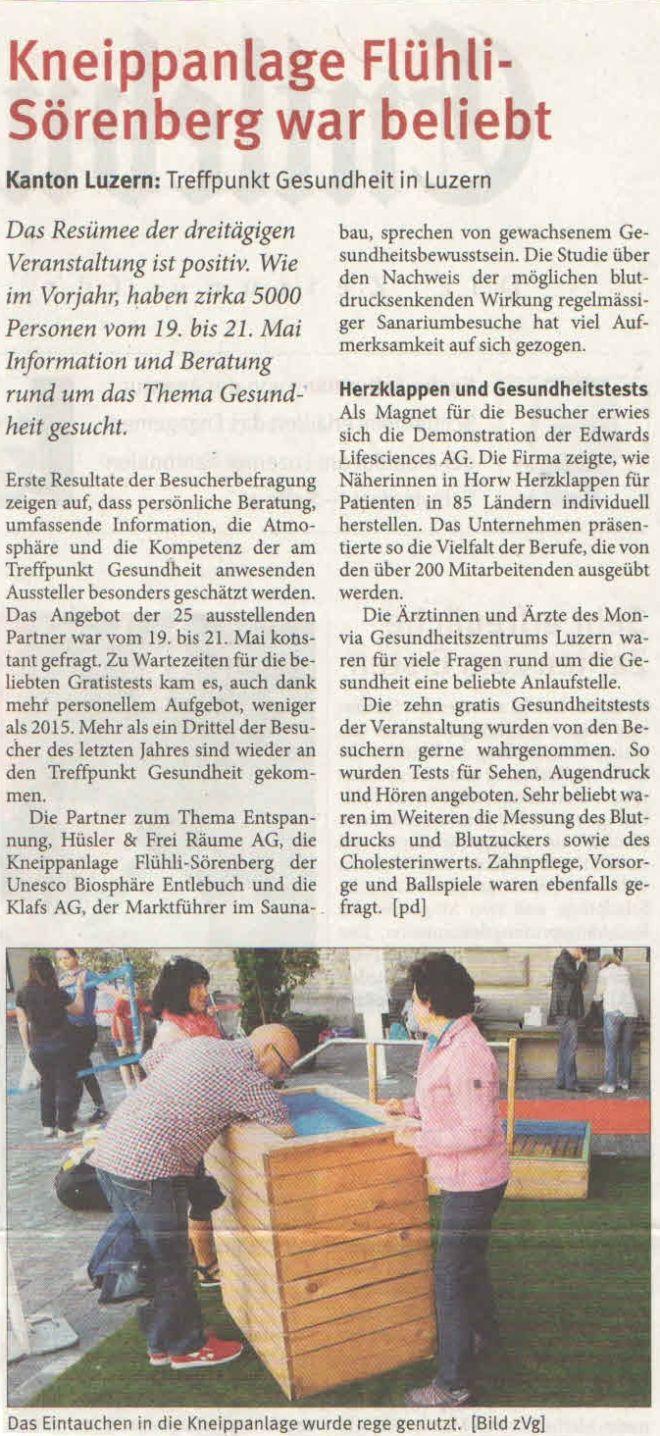 Entlebucher Anzeiger 24. Mai 2016